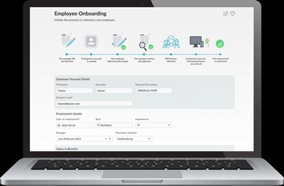 Zervicepoint Employee onboarding form